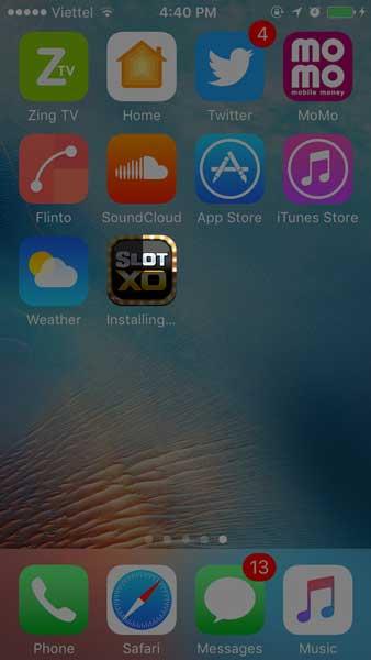 Download SlotXO สำหรับระบบ iOS - Step 2