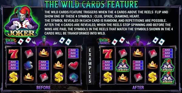 รีวิวเกม Joker Madness The Wild Card Feature