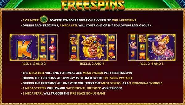 รีวิวเกม Tsai Shens Gift Freespin