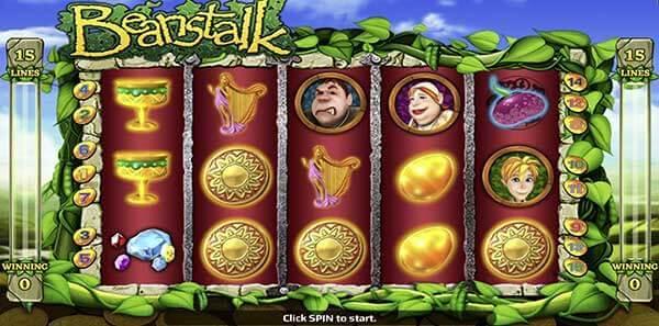 รีวิวเกม Beanstalk สัญลักษณ์ที่พบในเกม