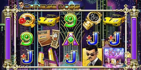รีวิวเกม Chinese Boss สัญลักษณ์ที่พบในเกม