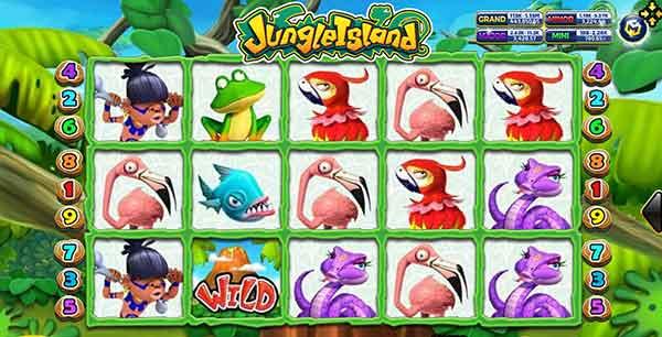 รีวิวเกม Jungle Island สัญลักษณ์ในเกม