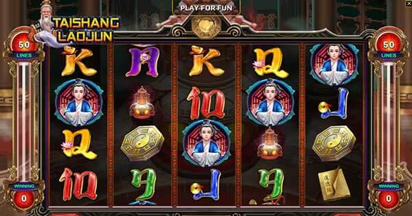 รีวิวเกม Tai Shang Lao Jun สัญลักษณ์ที่พบในเกม