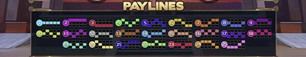 Lucky Streak Paylines