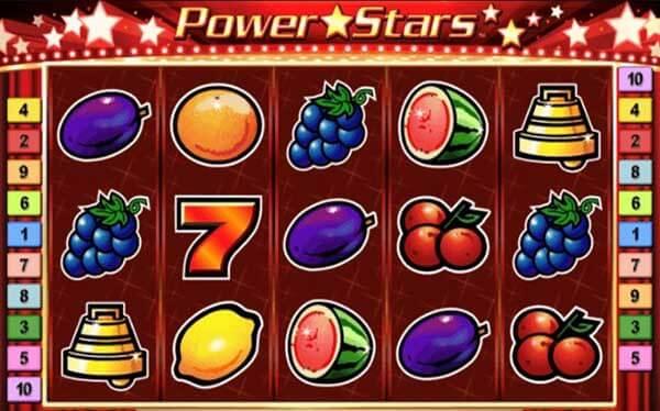 Power Stars สัญลักษณ์ที่พบในเกม