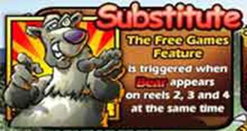 Bonus Bears สัญลักษณ์ Wild